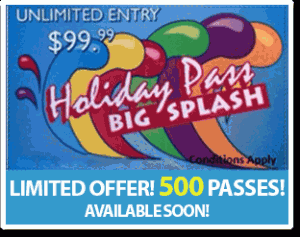 Big Splash Holiday Pass