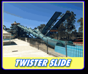 Twister Waterslide Big Splash Canberra