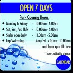 Big Splash Waterpark Open Hours 2017 2018